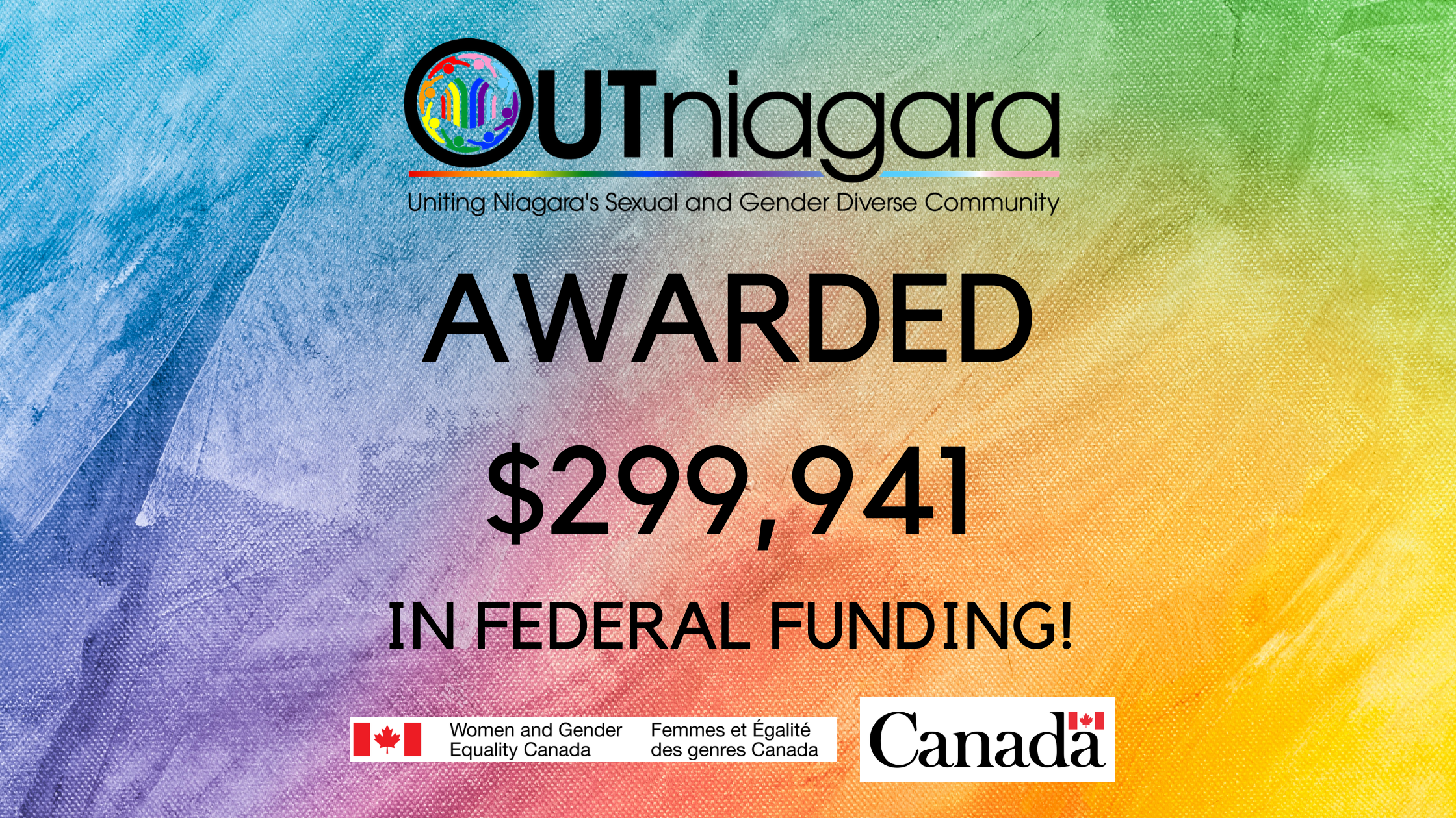 OUTniagara Funding Announcement